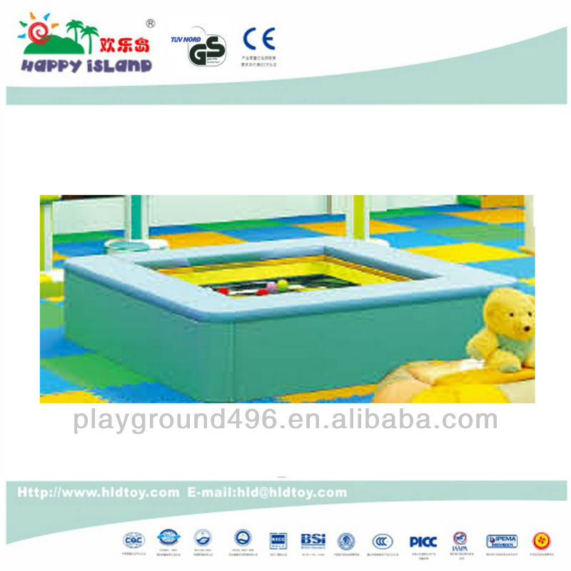 Hot sale childre indoor soft water play bed