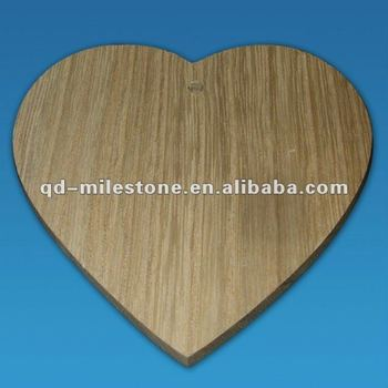 Small Heart Shaped Wooden Gift Tag/Wooden craft