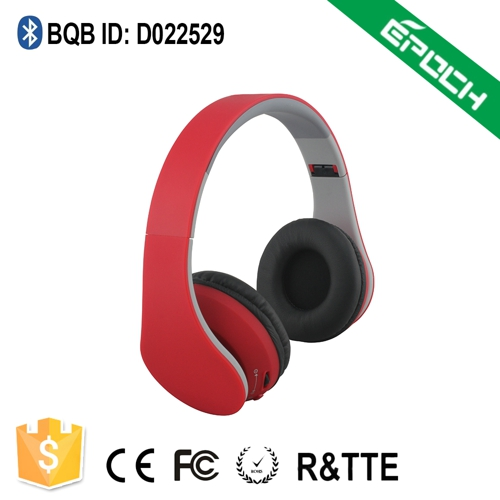 Foldable CSR4.0 made in china wireless sport bluetooth headset