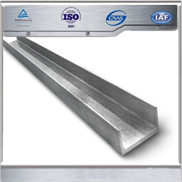 Hot rolled Grade Q235A U&C type channel steel