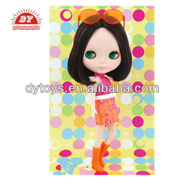 ICTI certificated custom make wholesale plastic best candy doll models