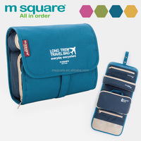 Large capacity multifunctional wash bag for travel
