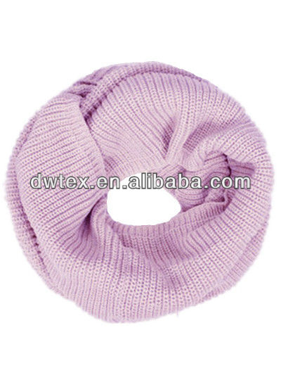 winter knitting loop scarf muffler 110*180cm
