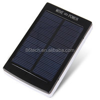 30000mAh Dual USB Portable Solar Panel Power Bank for iPhone 6S with LED Light