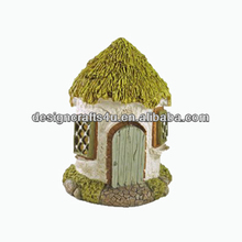 Green Pinnacle Enchanted Garden Fairy House Ornament