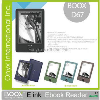 Onyx Boox Carta HD Eink e Book Reader D67