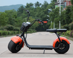 1000w lithium battery Scrooser SEEV citycoco harley electric motorcycle/big wheel two wheel electric scooter