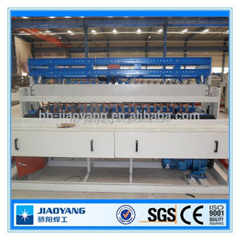 Galvanized 2x2 galvanized welded wire mesh panel machine with CE certificate