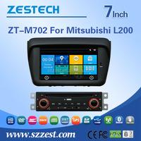 Automobiles autoradio car dvd vcd cd mp3 mp4 player For Mitsubishi L200 car dvd player gps navigation with 3G TV Bluetooth GPS