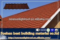 Heat Processed Stone Metal Roofing Tile/Heat Insulated/Weatherproof/Best Quality