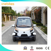 New style EEC approved 4 wheels 2 seater mini electric care, wheelchair disabled car from China supplier