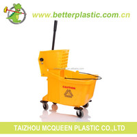 36L Cleaning Mop Wringer Plastic Bucket Cheap Garden Cleaning Bucket