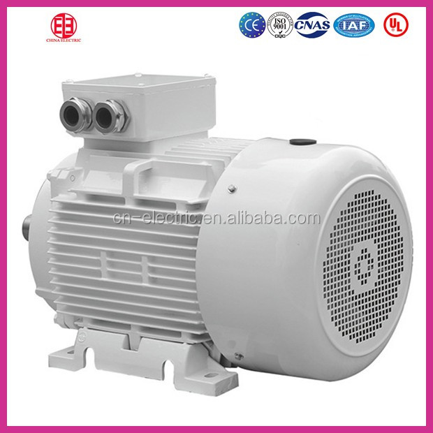 medium size 3 phase iec electric induction motor 7.5 hp