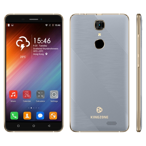 Original Brand New Drop shipping KINGZONE S20 1GB+16GB 5.5 inch Mobile Phone 3G unlocked 2G smartphone Blue