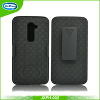 Trade Assurance Supplier shockproof heavy duty belt case cover for lg g2