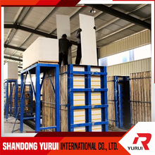 lightweight interval wall panel production line/fiber cement board+eps sandwich panel machine