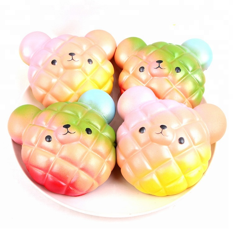 High quality slow rising kawaii squishy animal bread for kids <strong>toy</strong>