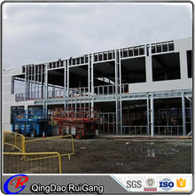 Top sale Multi-storey prefab steel structure office building apartment construction