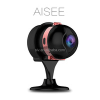 SIV AISEE the world smallest baby monitor F2.0 lens 100 degree view angle mini wifi ip camera