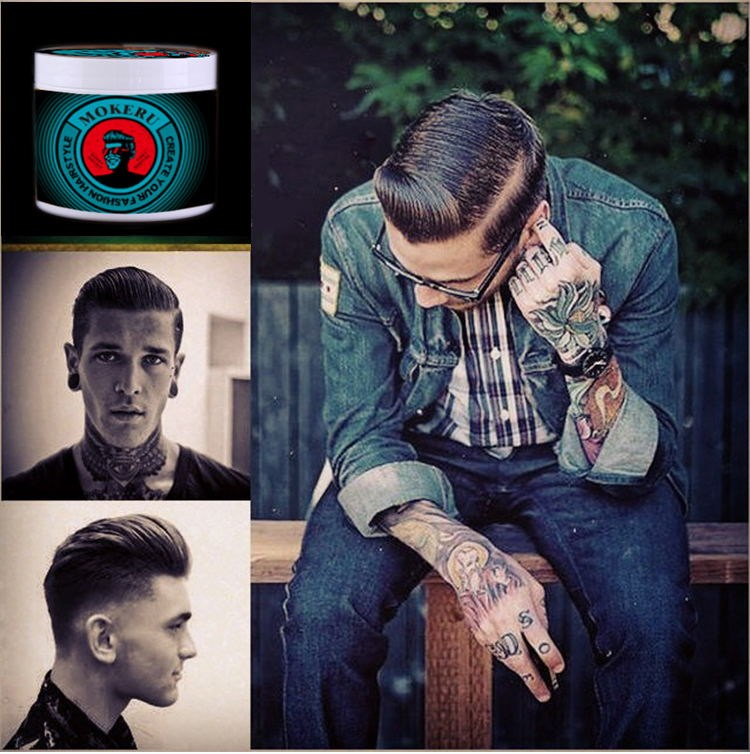 Shine Hot Water Soluble Hair Styling Pomade Private Label Pomade