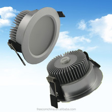 Good Heat Dissipation 18w Extruded Aluminum Down Light Lamp Shades