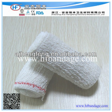 Blue/Red line Spandex Elastic Crepe Bandage With BV CE FDA ISO certifications
