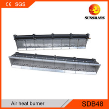 CE Approved coating oven joss paper duct burner