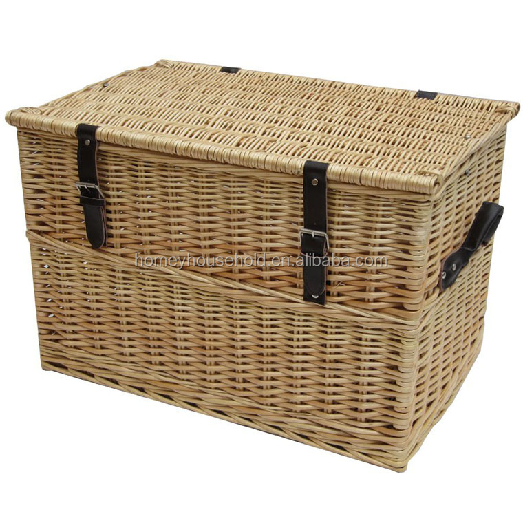 Most Popular Eco-friendly Wicker Chest Storage Trunk