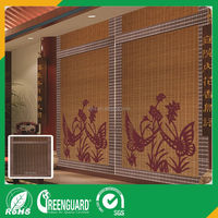 Outdoor bamboo roller blinds bamboo window curtain