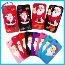 China supplier silicon cases cartoon for phones,Christmas gift phone case for Iphone 6s