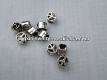 Wholesale Fashion Large Hole Charms Alloy Beads For Bangle & Necklace &Garment &Scraf