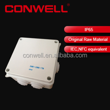 plastic waterproof electric enclosure box plastic junction box cover