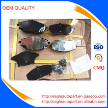 front brake pads 04465-02390 for toyota corolla 2014