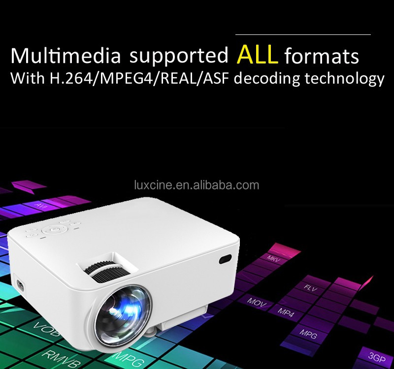 Home LCD projector with HDMI&USB&SD card&VGA
