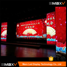 Reliable and cheap rental indoor p3.9 p4 led display video wall for stage show