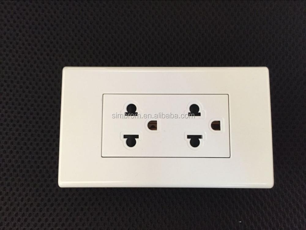 Wholesale Low Price European Chinese plug Socket Switch