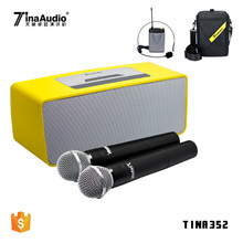 High power sound system wireless speaker amplifier for karaoke blue tooth speaker microphone pa subwoofer