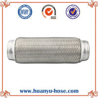 auto exhaust flexible 100mm pipe