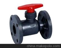 2 inch manual long stem pvc ball valve