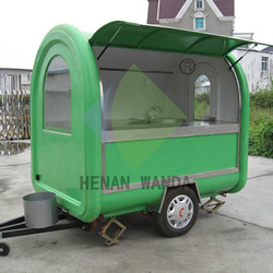 Multi-functional mobile cart /portable fast food Mobile Kiosk trailers