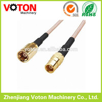 Straight MCX Female to SMB Female with RG316, 50 Ohm male to female power cable