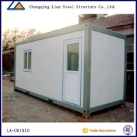 China Steel frame flat pack office container with cheap prices