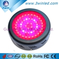 Round Quad Band UFO LED Grow Lamp 150W/49*3W Red 660nm 630nm Blue 460nm 440nm Popular in UK,US