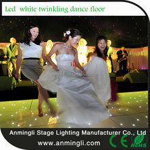 Indoor Usage and pc Material interactive led dance floor