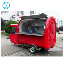 Tricycle Food Cart Mobile Coffee Motorcycle Cart for fast food sale