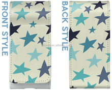 Custom Star printing design leather case for IQOS Electronic Cigarette case