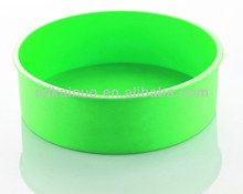 silicone round decorating cake base