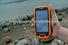 Smartphone 4.3' Quad Core 3G wifi GPS IP68 Rugged Android Smartphone with unlocked cell phone