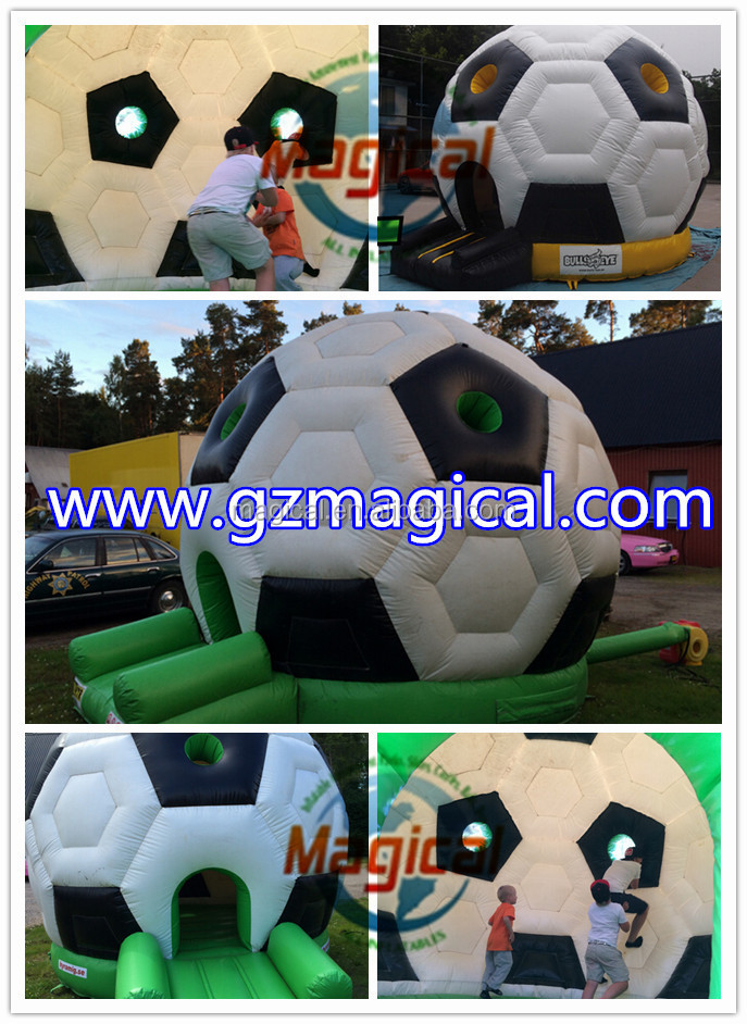 inflatable football bounce jumping inflatabe soccer bounce house
