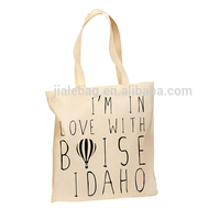 China Produce Customized Logo Printed Cotton Canvas Tote Bag